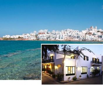 Επιλέξτε την Πάρο για τις διακοπές σας με €109 για τετραήμερη ή €179 για εξαήμερη διαμονή Δυο Ατόμων με πλούσιο πρωινό μπουφέ και μεταφορές από και προς το λιμάνι ή το αεροδρόμιο, στο Apollon Hotel στην Παροικιά της Πάρου, 50 μέτρα από την πλαζ και λίγα μ
