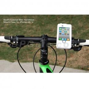 Bike Mount σκληρή θήκη για το iPhone 4/4S μόνο €28 από €55. Κάντε αφοβα ποδηλασία, στην πόλη ή στο βουνό κρατώντας προστατευμένο το iphone σας από κραδασμούς, πέσιμο, γκρατζουνίσματα. Μια προσφορά των Mobile Parts με έκπτωση 49%